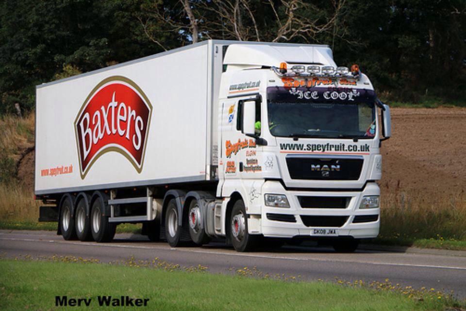 Speyfruit Baxters Lorry